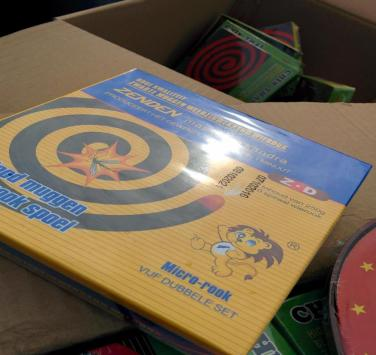 """The unregistered """"Zenden Mosquito Coil"""""""