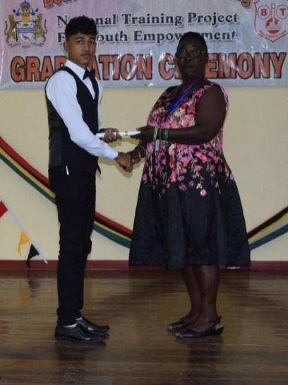 Another successful graduate.