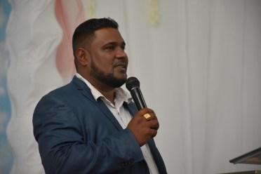Pastor Tony Seeram.
