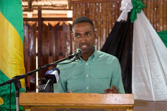 Alder Bynoe, Liaison Officer, UNFPA
