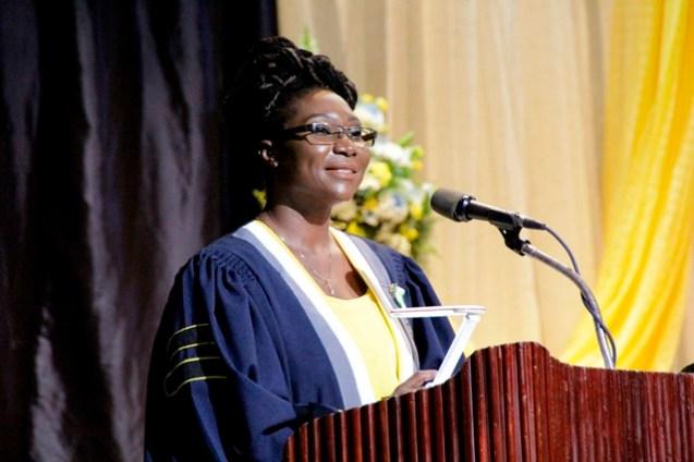 CPCE Principal, Ms. Viola Rowe.