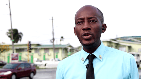 Chairman of the Guyana Youth and Student Movement, Ryan Belgrave.