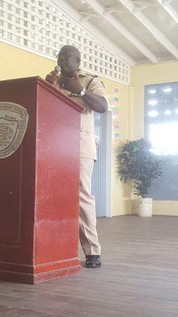 Elton Davidson, Assistant Superintendent (ASP) of Police.