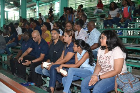 A section of the audience at Youth and the Oil & Gas Sector Part Two