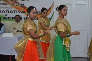 Scenes during the Pravasi Bharatiya Divas event.