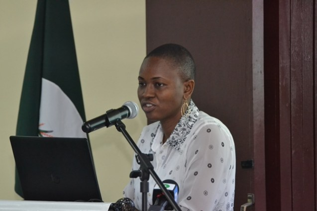 Head of the Department of Chemistry, Faculty of Natural Science, University of Guyana, Samantha Joseph.