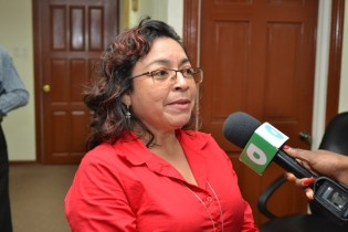 Rights Coordinator for the Amerindian Peoples' Association, Laura George.