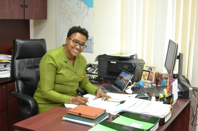 Minister within the Ministry of Public Infrastructure, Annette Ferguson
