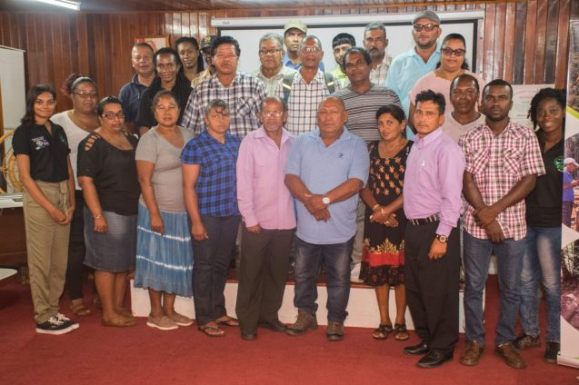 Forest Operators after completion of the workshop