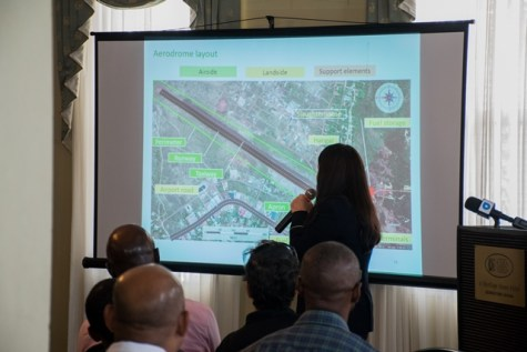 GSD Plus Consultant, and project manager, Katerine ….as she presents the study to stakeholders.