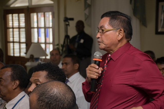 Upper Takatu Upper Essequibo, Region 9 Regional Chairman, Brian Allicock shares his view on the study.