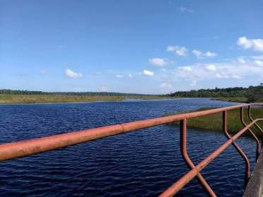 Stored Fresh Water in the Tapakuma Conservancy.