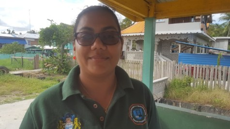 Ms. Christine Douglas, Monitoring Evaluation Officer of NDIA.