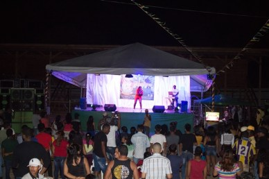 Scenes during the Ministry of Social Cohesion's Mashramani 'All Stars Concert' in Lethem.