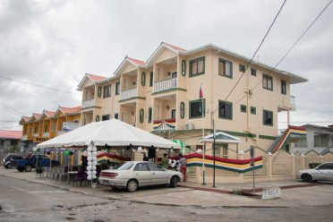 An external view of the New GRA Office in Bartica.
