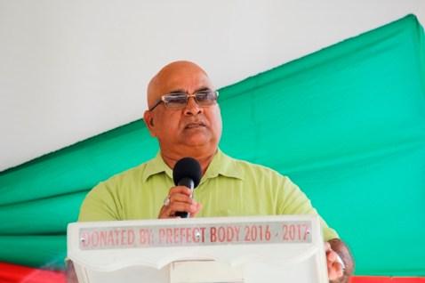 Regional Executive Officer, Mr. Denis Jaikaran.