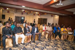Those in attendance at the event