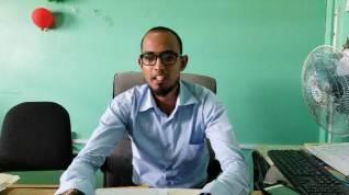 Administrator, Mibicuri Hospital, Asif Owal.