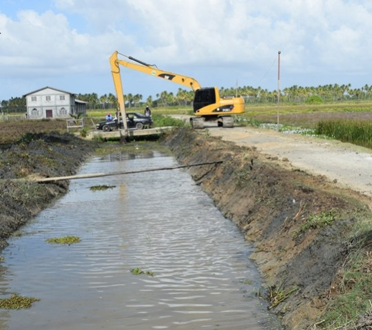 Ongoing residential drainage improvements at Union II.