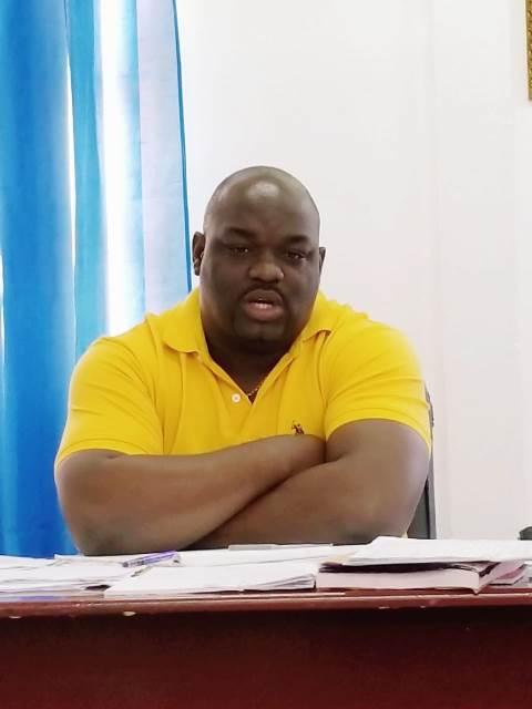 Director of Regional Health Services, Jevaughn Stephen.