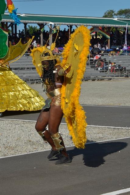 Region 3 costume on display.
