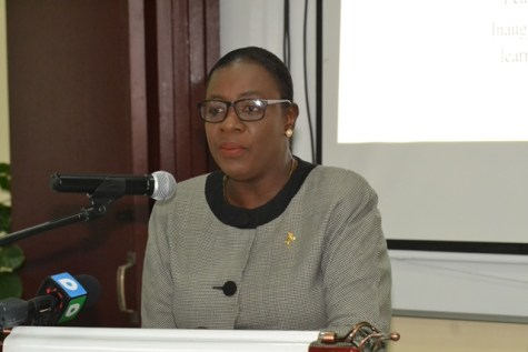 Minister of Education Dr. Nicolette Henry.