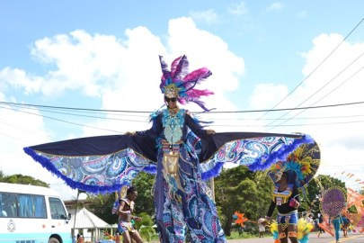 Scenes from the 2019 Mashramani Costume and Float parade.