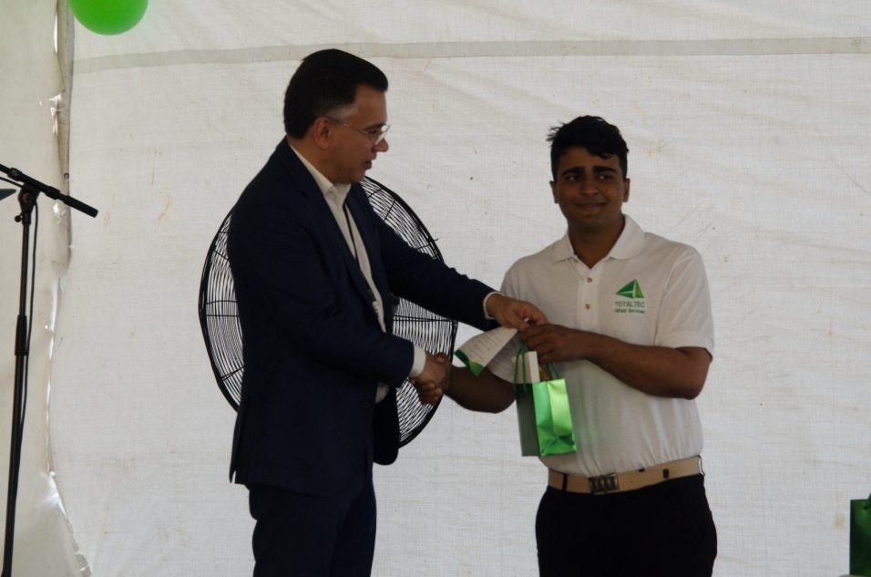 Top Performer, Saubeir Husain.
