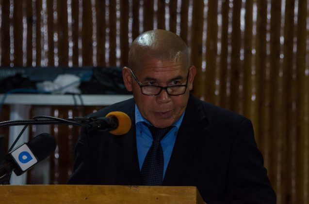 Minister of Social Cohesion, Dr. George Norton
