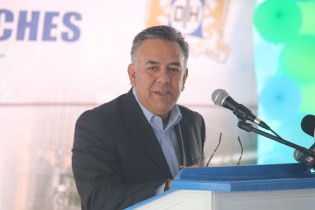 UniCarriers' Director of Sales for Latin America, Eduardo Torres.