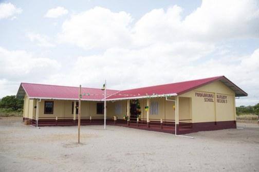 The new Annex of Arapaima Nursery School in Tabatinga, Lethem.