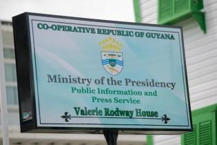 Building renamed in Valerie Rodway's honour.