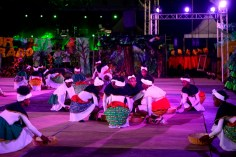 Some of the cultural presentation during the 49th Republic celebration at Durban Park.