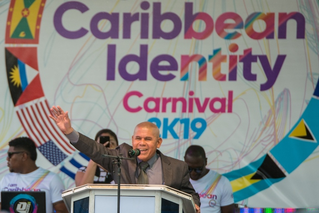 Minister of Social Cohesion, Dr. George Norton.