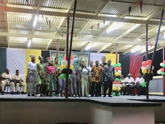 The Republican Group serenate the audience with songs of Guyana.