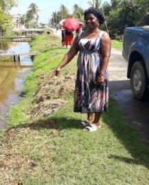 Vegetation removed from Ann's Grove East Sideline.