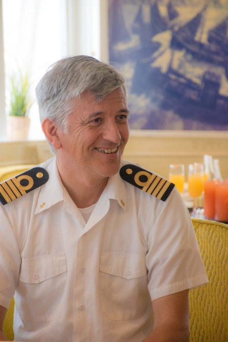 Captain of MS Serenissima, Erik Juranovic