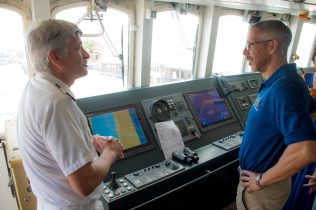 Some scenes from Minister Gaskins visit to the Serenissima