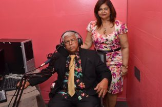 Mr. and Mrs. Sharma in their Studio