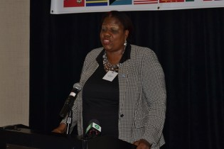 President of the Guyana Diabetic Association and Chairperson of the International Diabetes Federation North America and Caribbean Region, Glynis Beaton.