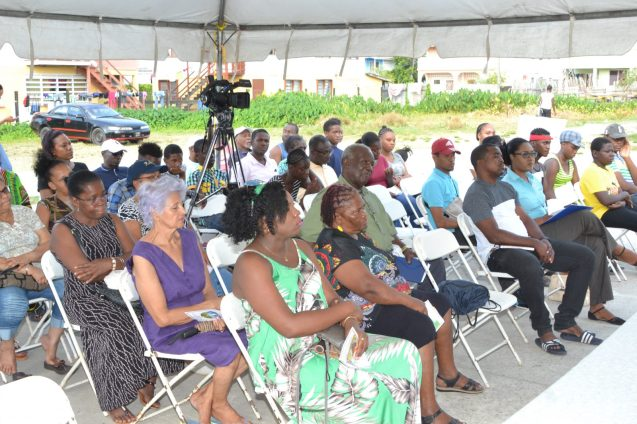 Residents and community leaders of Agricola