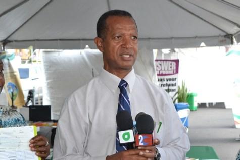 President of the Athletics Association of Guyana (AAG), Aubrey Hutson.