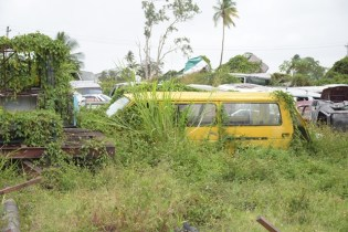 Derelict Vehicles at Stone Depot.
