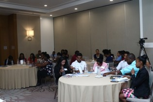 Some of the doctors currently engaged in the two-day workshop.