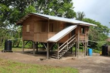 One of the newly constructed houses in Region One