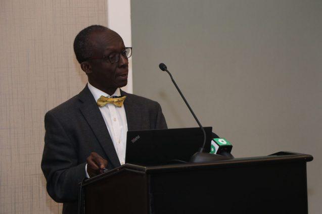 PAHO/WHO Representative, Dr. William Adu-Krow