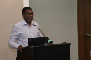 Chief Medical Officer attached to the Ministry of Public Health, Dr. Shamdeo Persaud