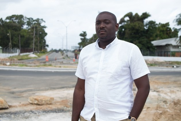 Senior Engineer from Ministry of Public Infrastructure, Sherod Parkinson.