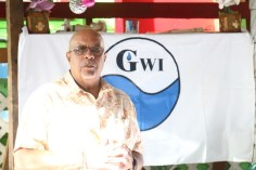 Managing Director of the Guyana Water Incorporated (GWI), Dr. Richard Van West-Charles.