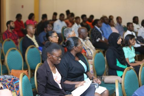 Stakeholders being engaged during the Green Conversations